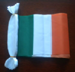 Ireland Bunting, rectangular, 9 metre.